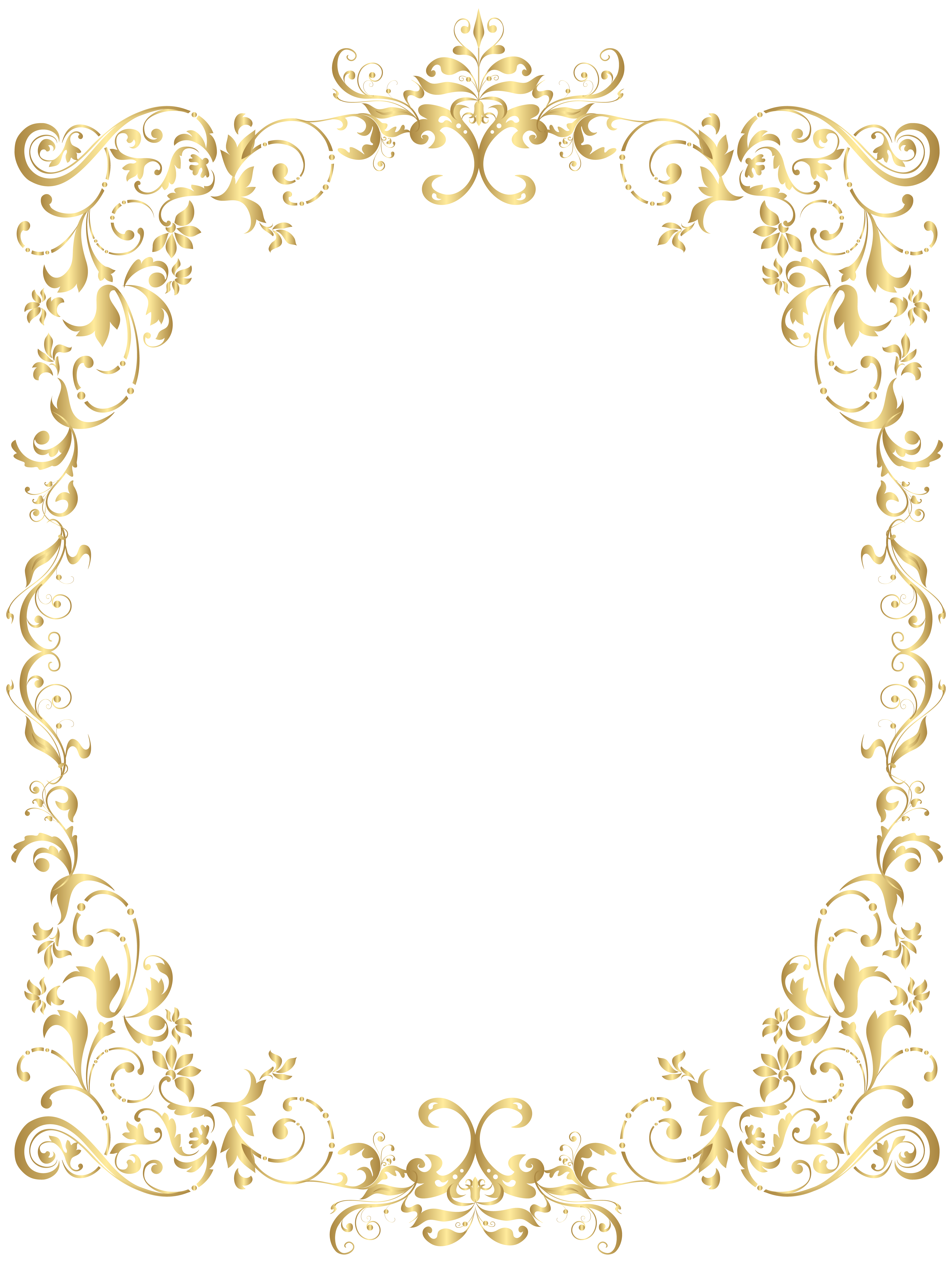 baroque vector foliage