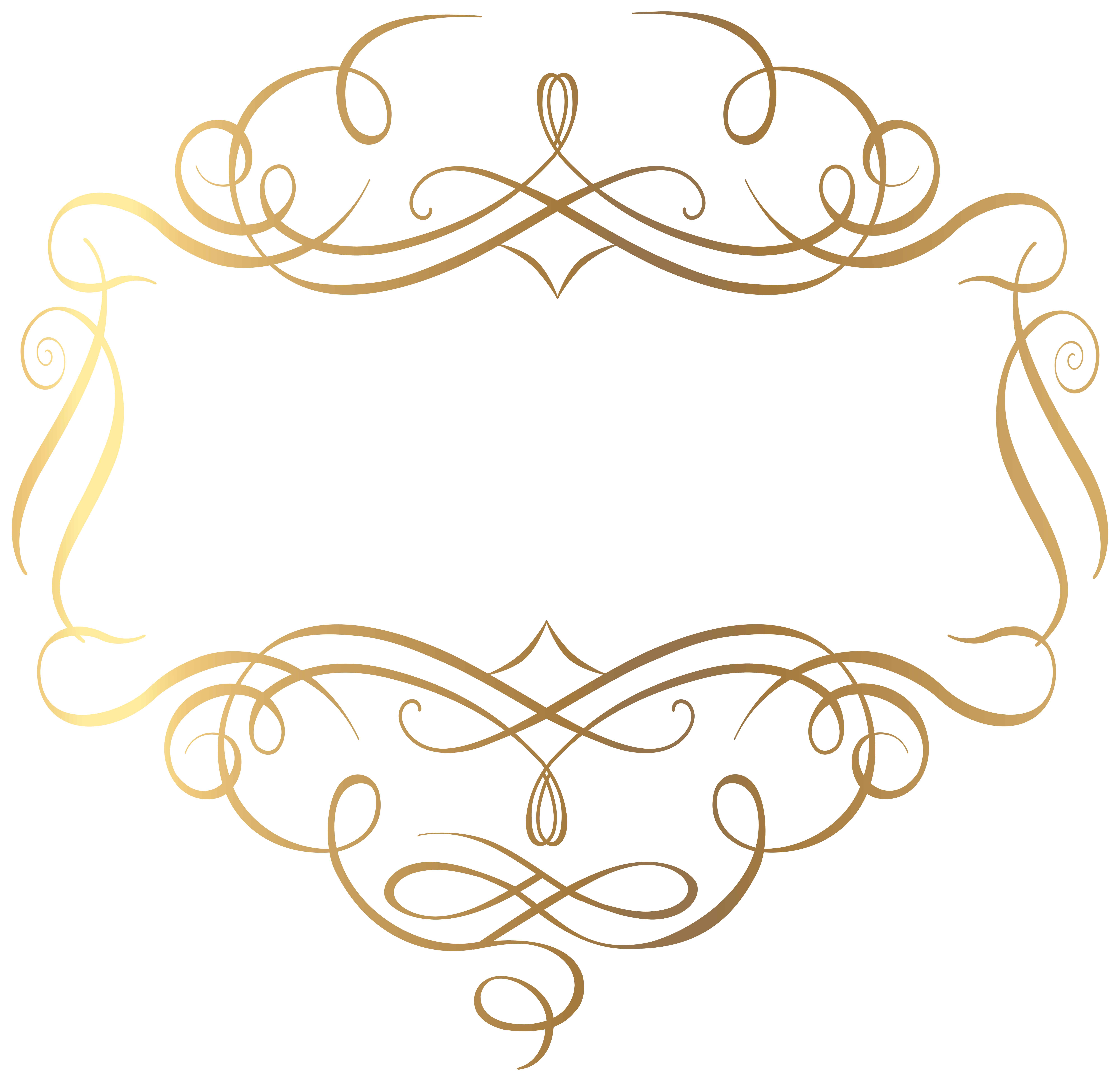 Decorative clipart decorative element. Gold decoration png transparent