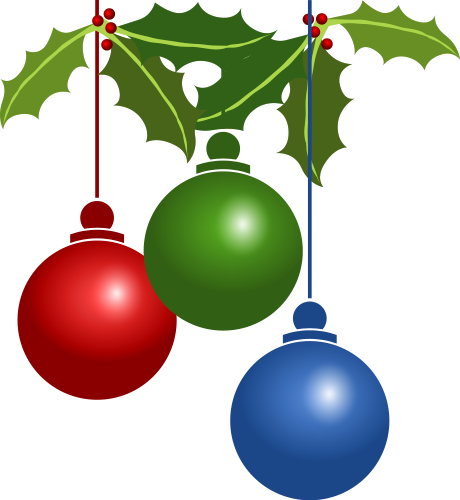 Ornament clipart christmas tree ornament. Holiday