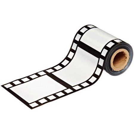 Decoration clipart party accessory. Filmstrip poly decorating material