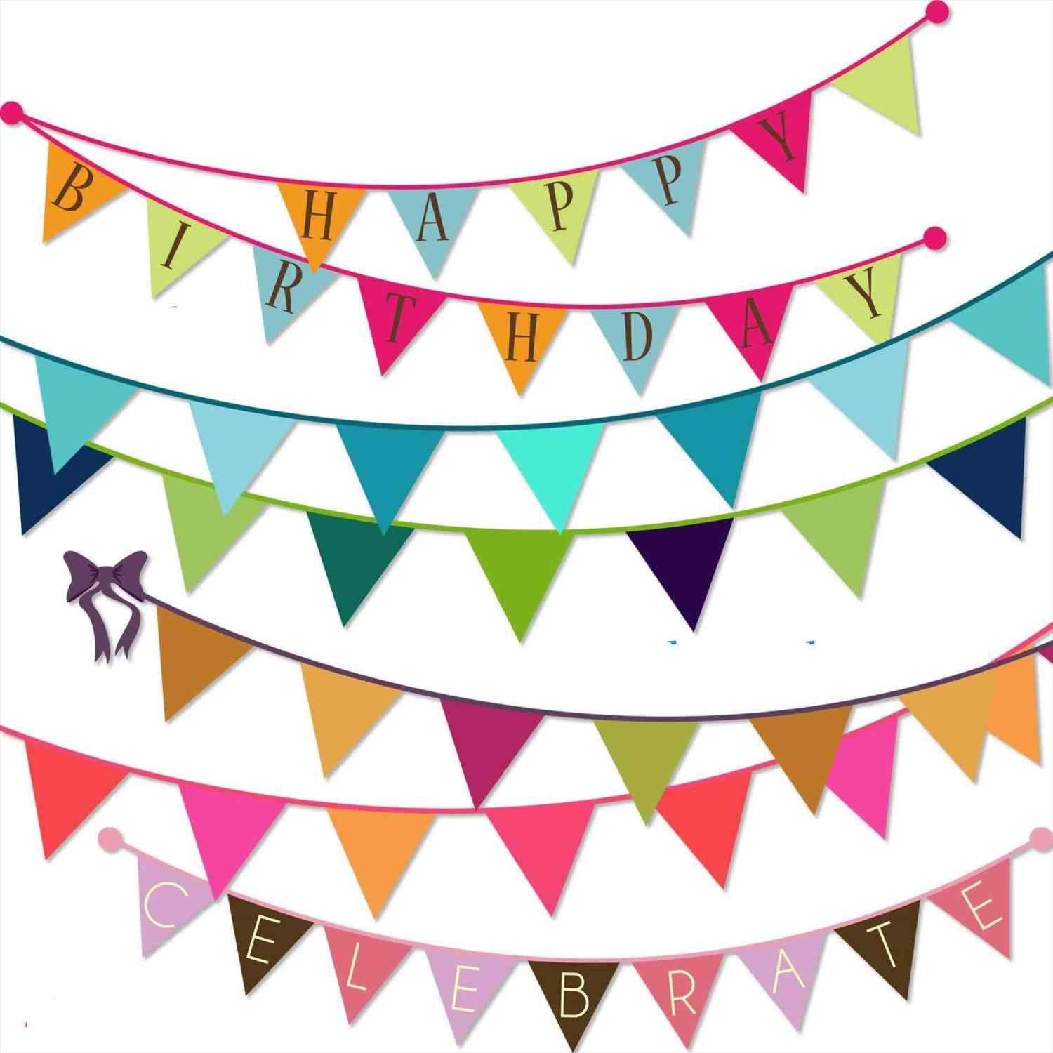 decoration clipart party banner
