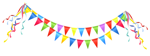 Decoration clipart party banner. Lacalabaza pencil and in