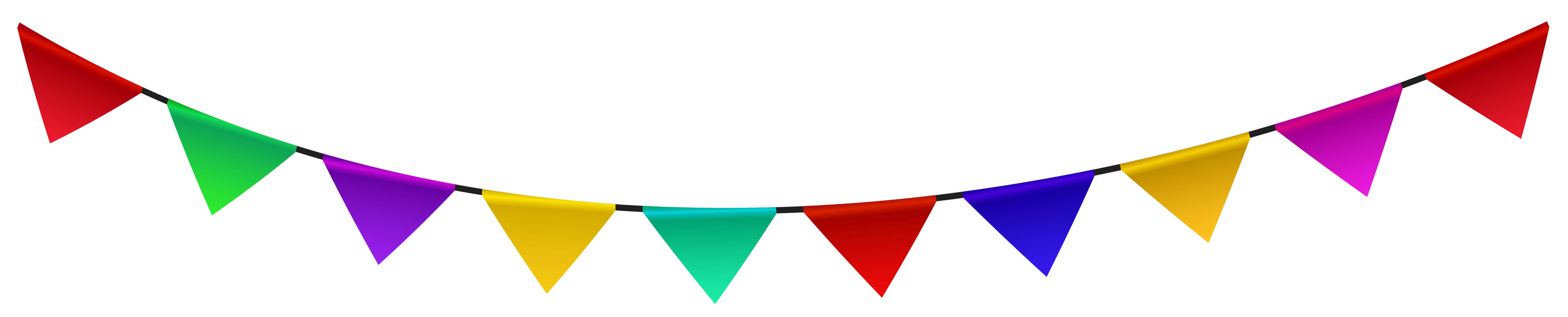 Party bunting png. Free decorations cliparts download