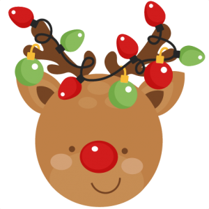 Rudolph clipart toddler. Reindeer christmas svg scrapbook