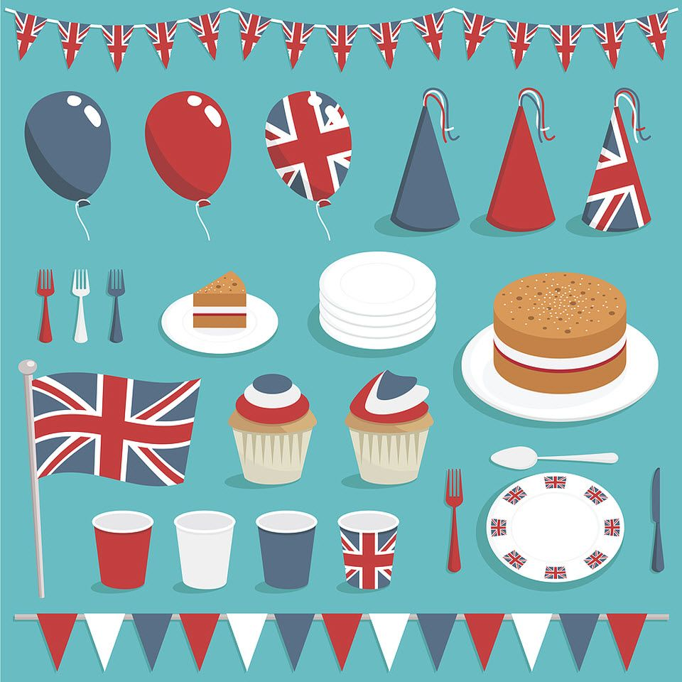 decorations clipart street party