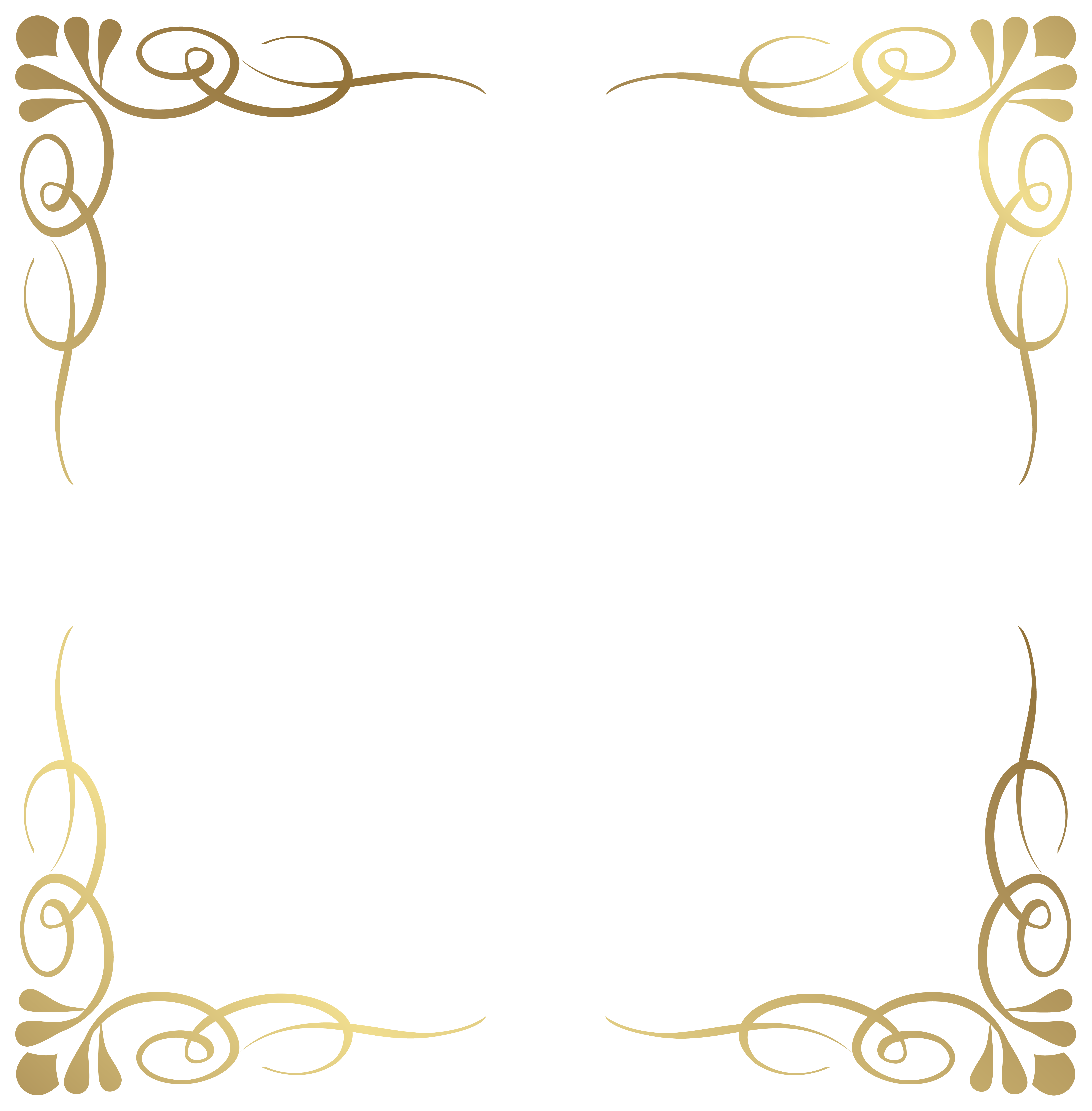 Decorative border png. Transparent free images only
