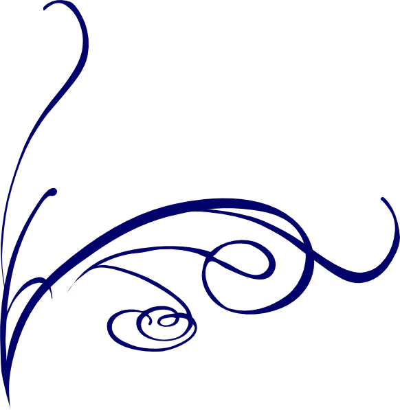 Decorative clipart fancy line. For free download