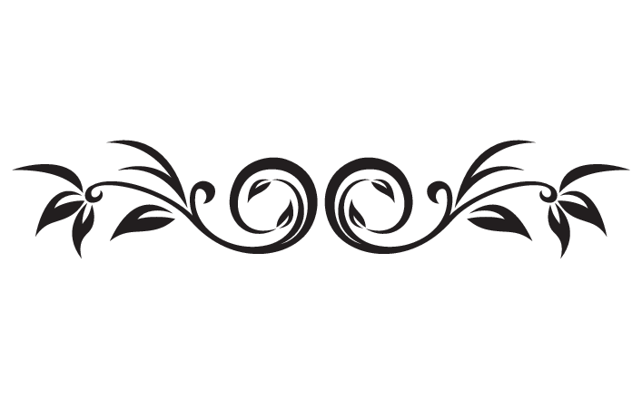 decor vector scrollwork