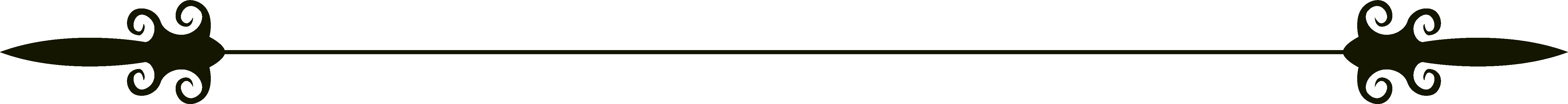 Decorative line divider png. Collection of page