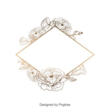 Border vectors psd and. Decorative vintage frame vector png graphic