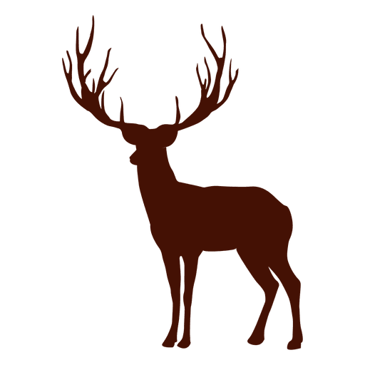 Deer antlers silhouette png. Transparent svg vector