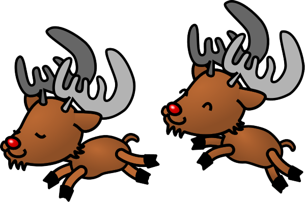 transparent reindeer