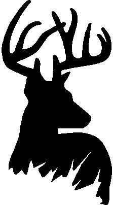 Deer clipart deer hunter. Silhouettes of clip art