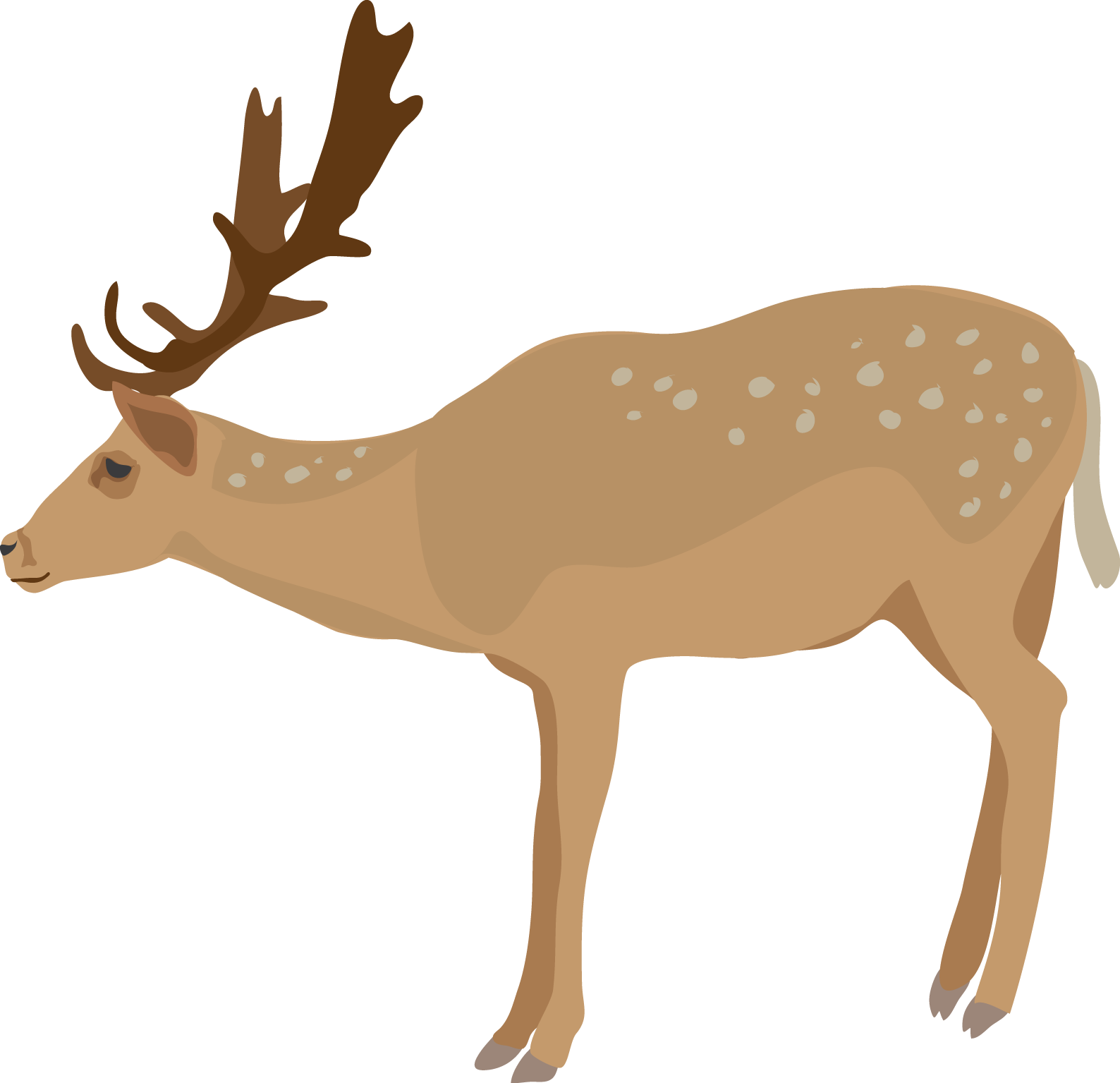 Deer clipart png. Collection of transparent