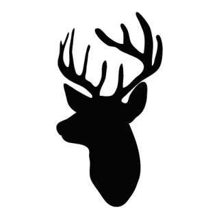Deer head silhouette png. Images in collection page