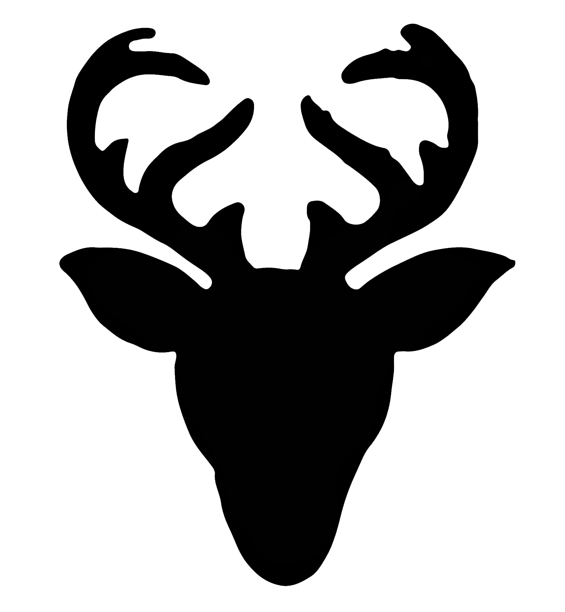 Deer head silhouette png. At getdrawings com free