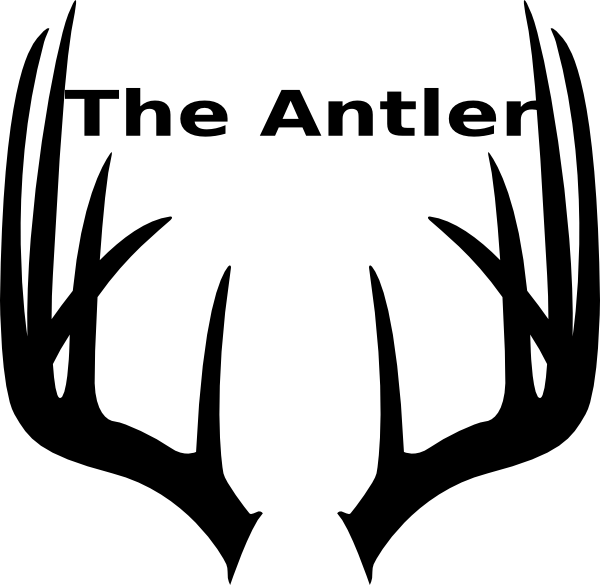 Stag vector antler. Clip art at clker