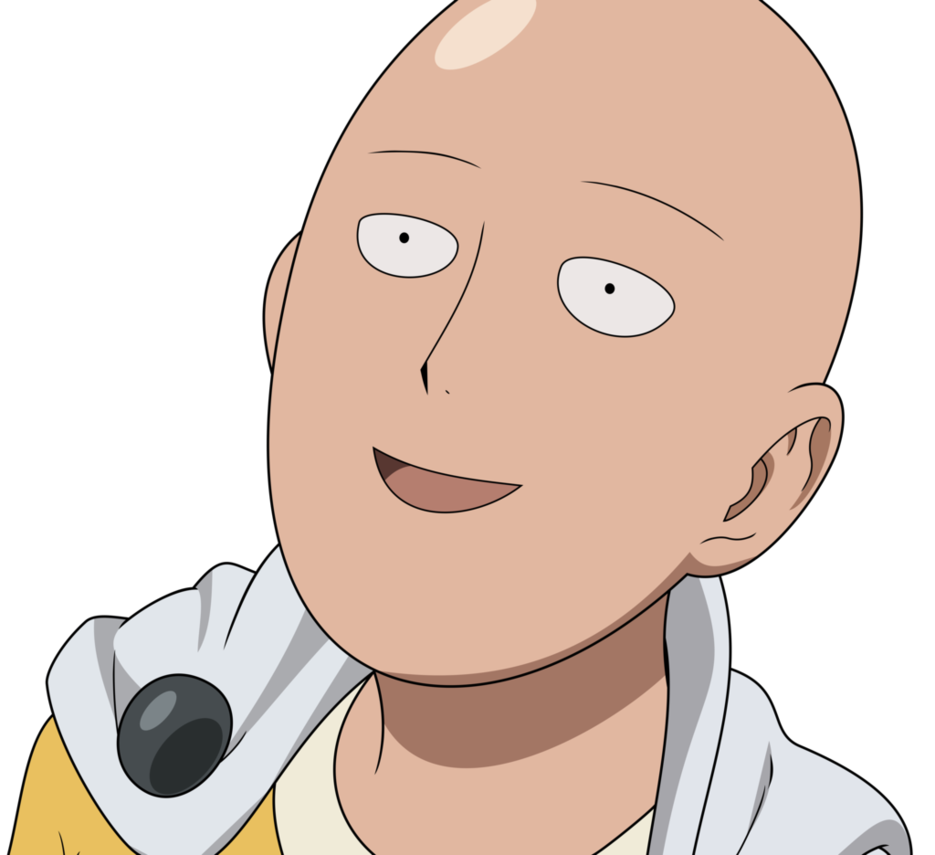 Saitama one punch man png. Which is your favourite