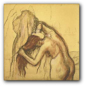 Degas drawing. Wednesday ongoing classes page