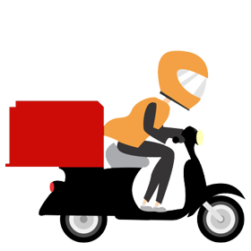 Delivery clipart. Elements of transparent design