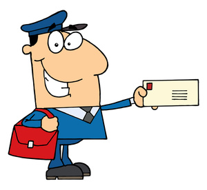 Delivery clipart. Us mail