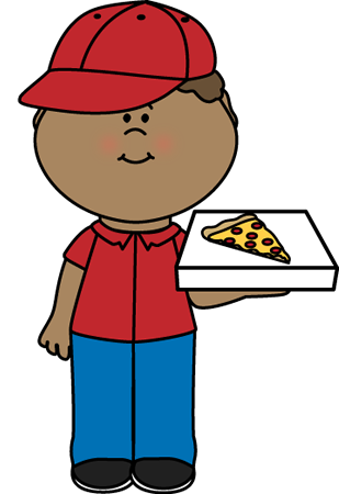 Delivery clipart kid. Pizza clip art images