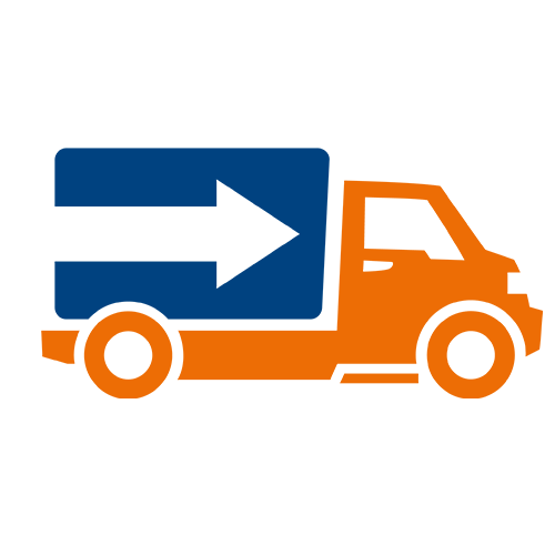 Delivery clipart on time delivery. Proof of zetes icon