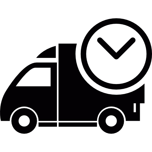 Delivery clipart on time delivery. Free commerce icons icon