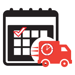 Delivery clipart on time delivery. Date magento extension select