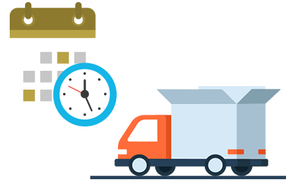 Delivery clipart on time delivery. Magento order date extension