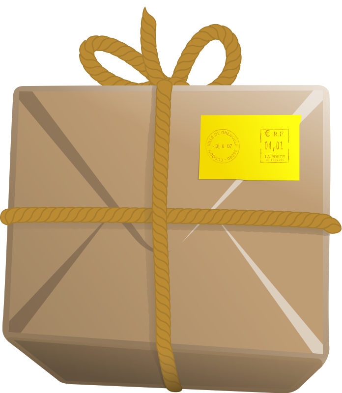 Delivery clipart package delivery. Free parcel cliparts download