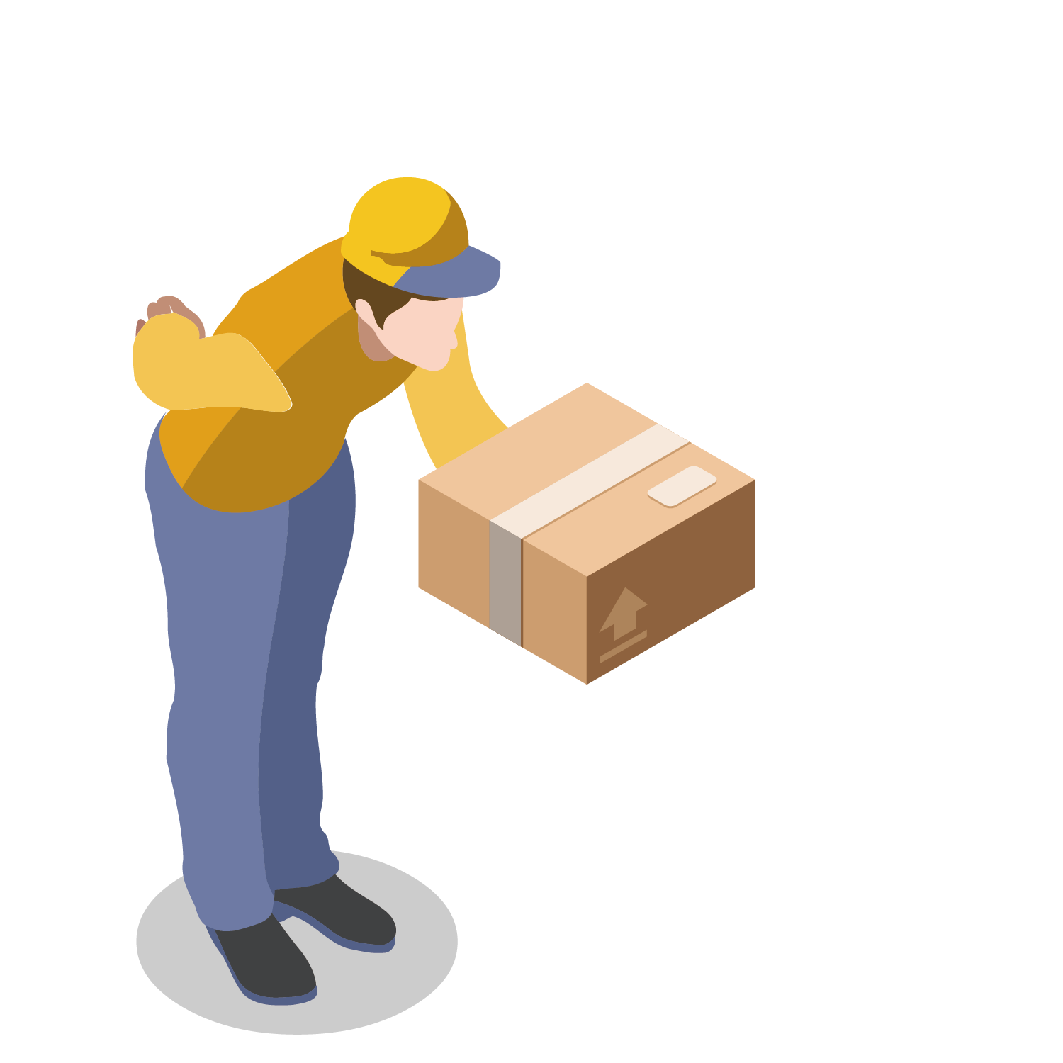 Delivery clipart package delivery. Parcel clip arts for