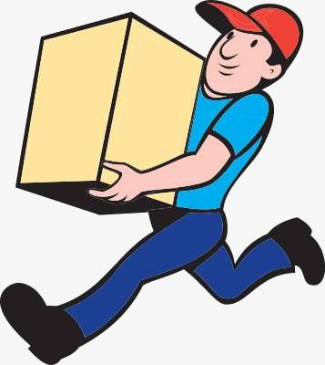 delivery clipart package delivery