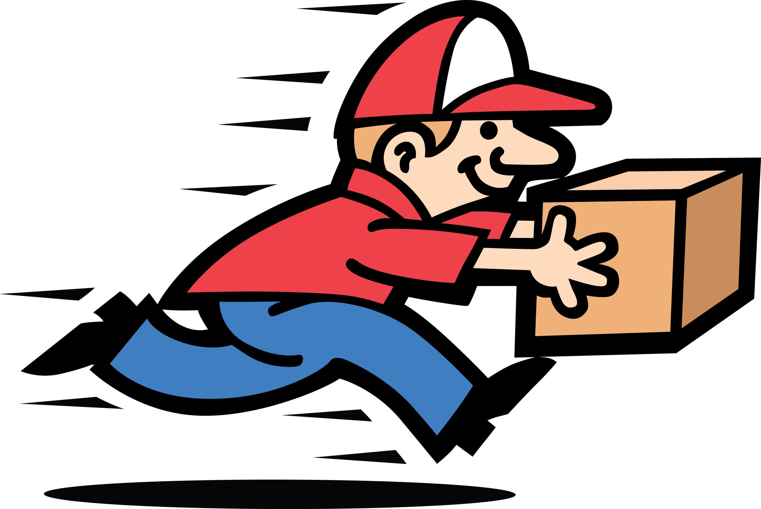 Delivery clipart speedy delivery. Information for be slim