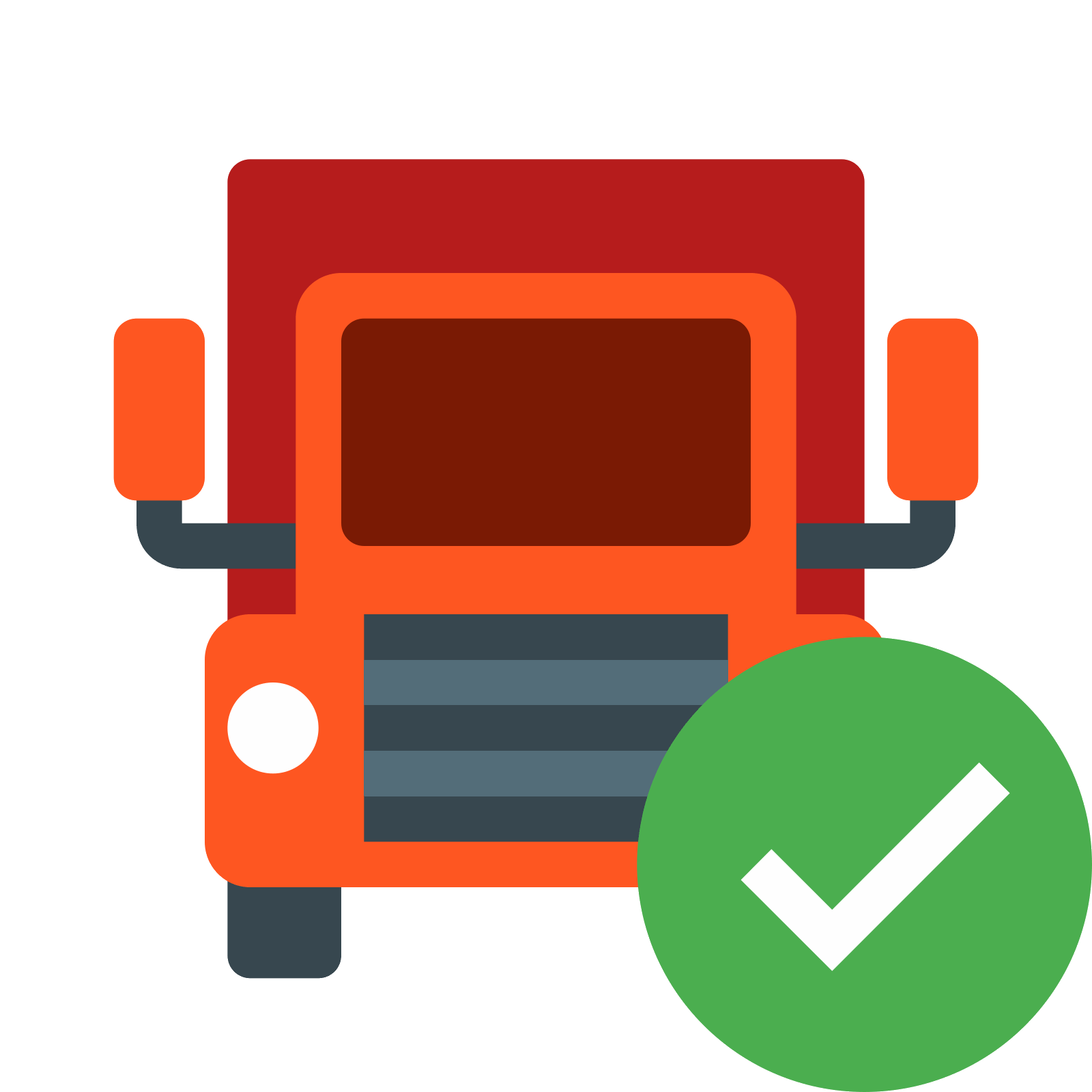 Truck vector png. Delivered icon free download