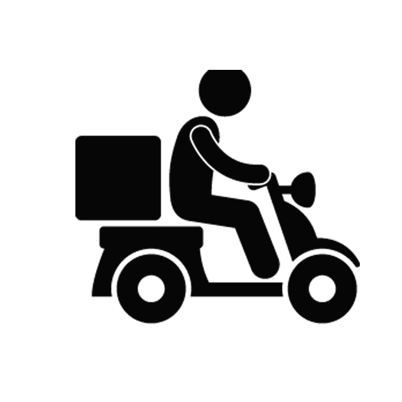 Delivery icon png. Chinese cuisine transport motorcycle