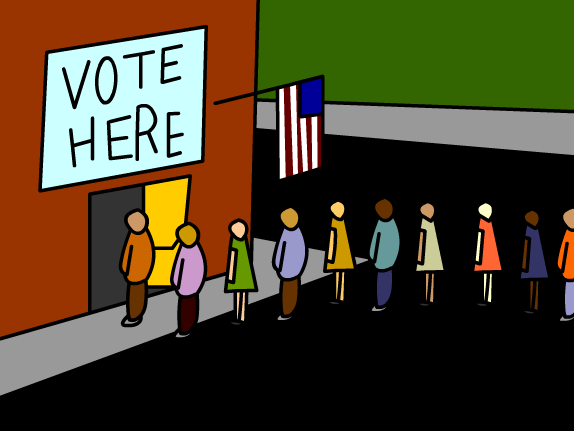 democracy clipart voting poll