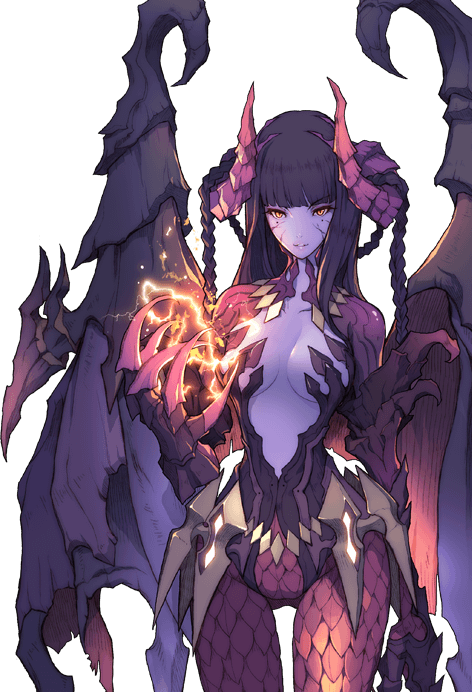 Demon anime png. Devil succubus wbr pinterest