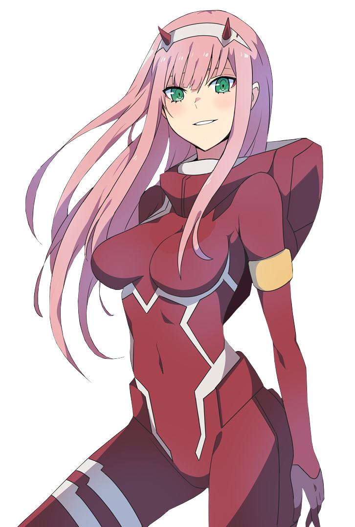 Demon anime png. Girl zero two darling