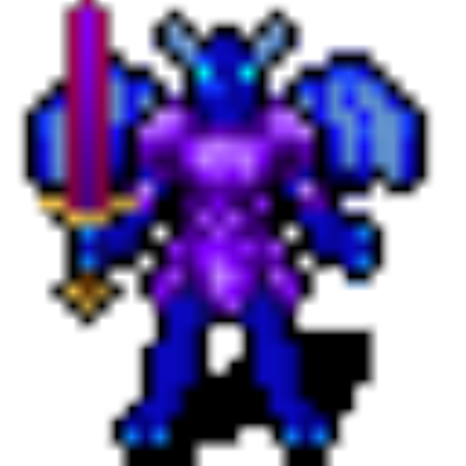 Demon clipart blue devil. Soldier blade roblox