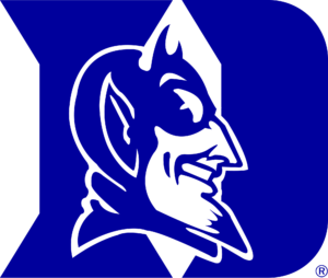 Demon clipart blue devil. Wake forest deacons vs