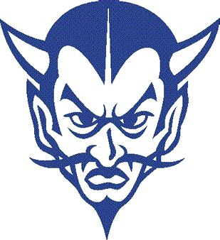 Demon clipart blue devil. Best mjhs devils