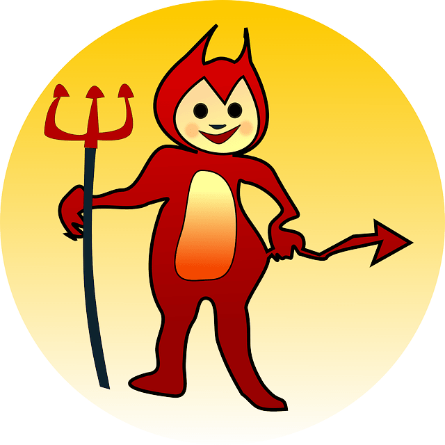 Demon clipart devil man. Jokes about demons fun