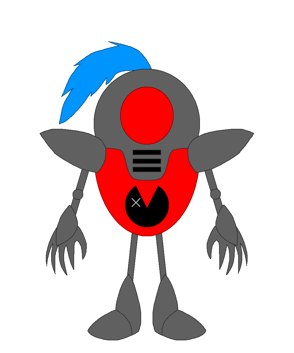 Demon clipart evil person. Cyborg spiral turned by