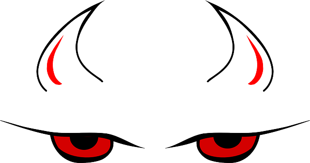 Demon clipart female devil. Eyes simple clipground free