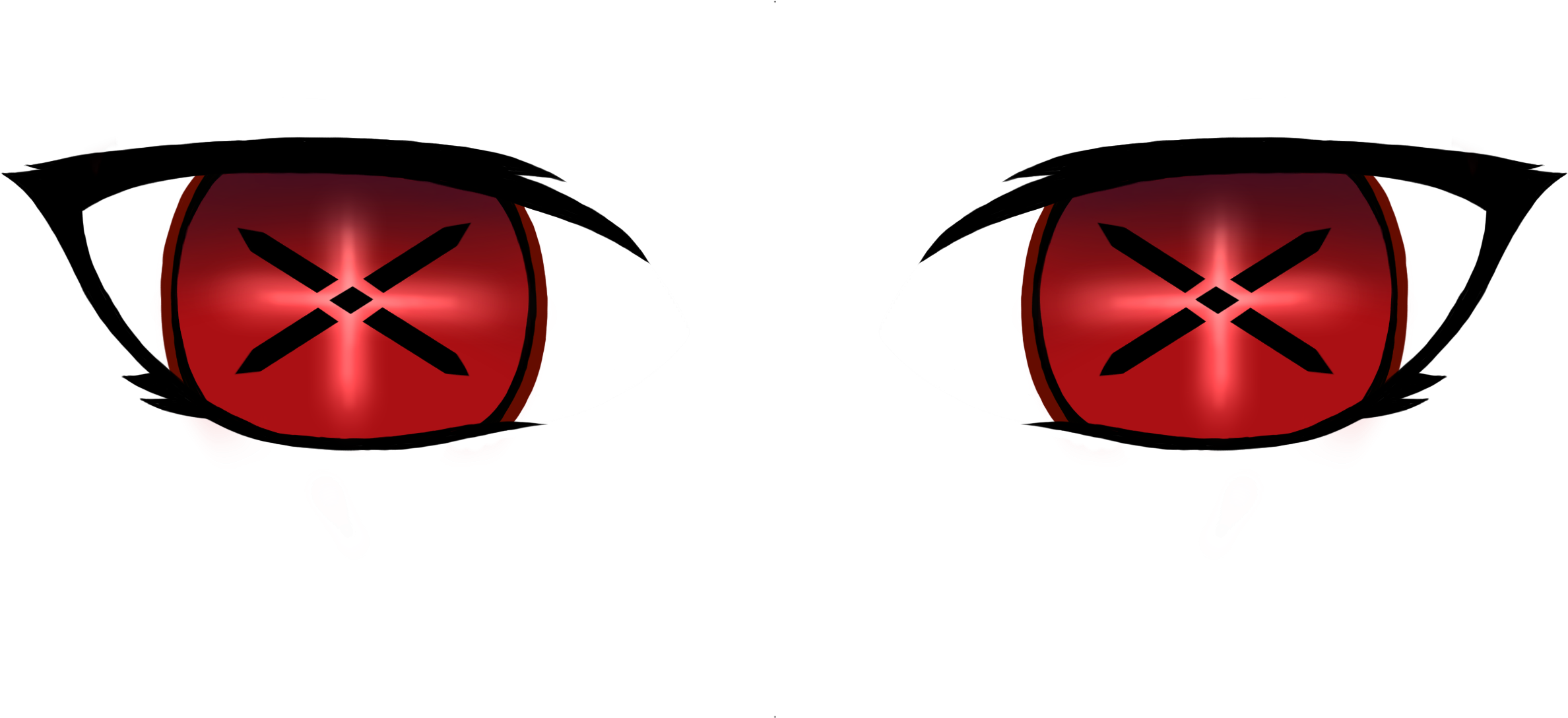 Demon eyes png. Download cartoon image with