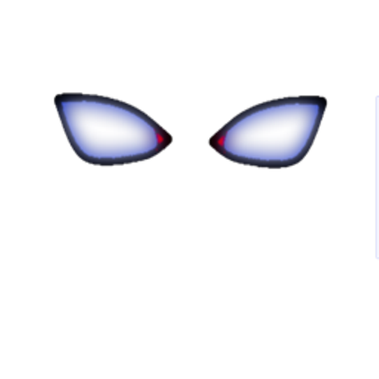 Demon eyes png. Realistic roblox