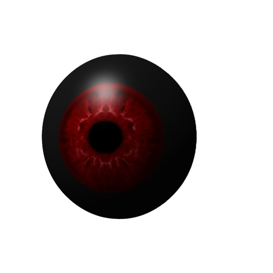 Demon eyes png. Realistic ish eye by
