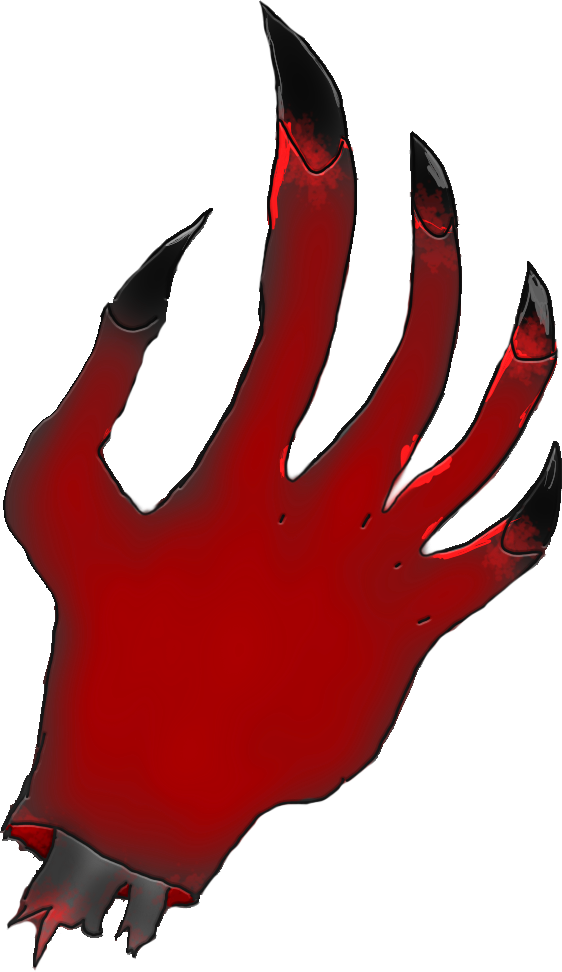 Demon hand png. Severed arm opengameart org