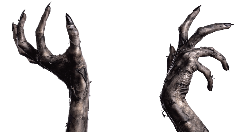 Demon hand png. Collection of claws
